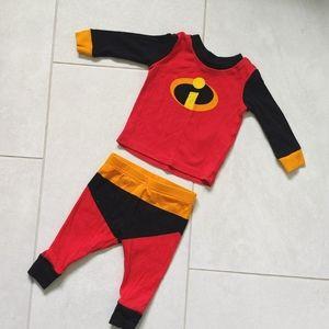3 for $12! 6-9M Incredibles Pajamas!